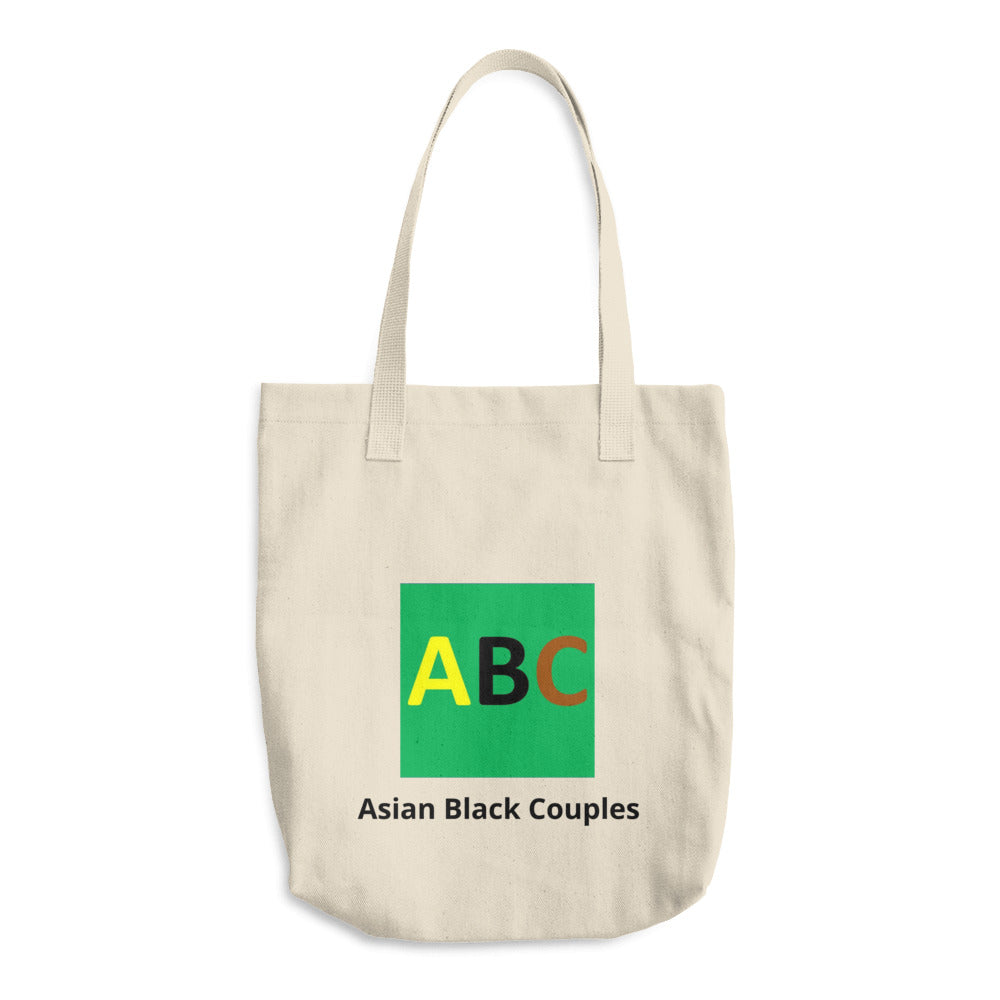 Bull Denim Cotton Tote Bag ABC Logo