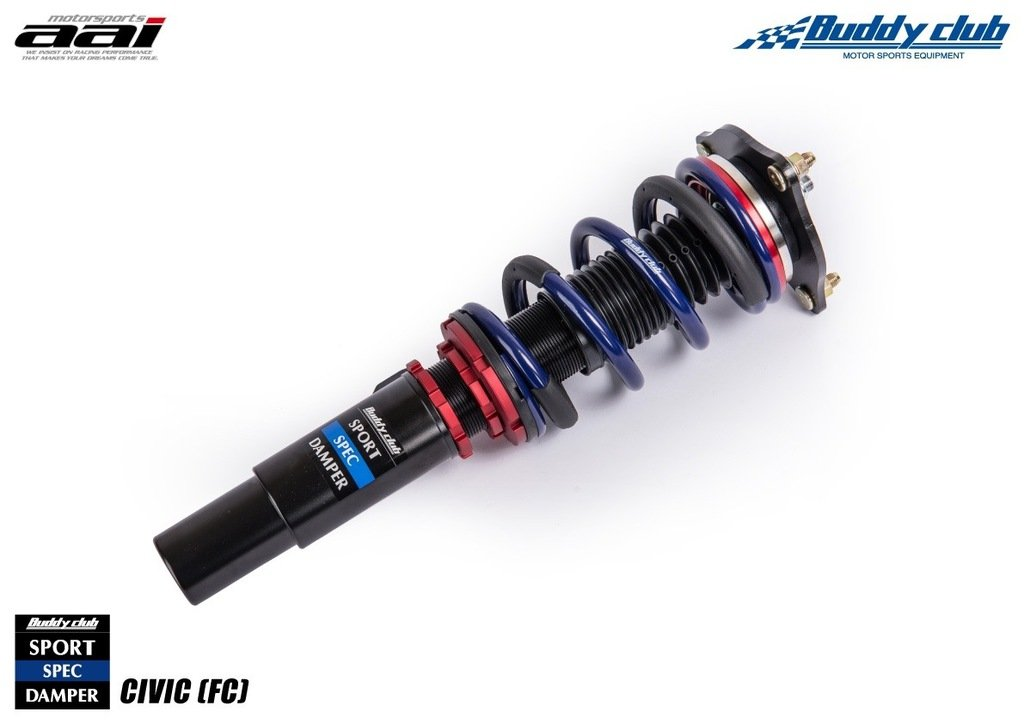 Sports Spec Damper and Coilover Spring Kit to Suit Honda Civic (FC 10th Gen)
