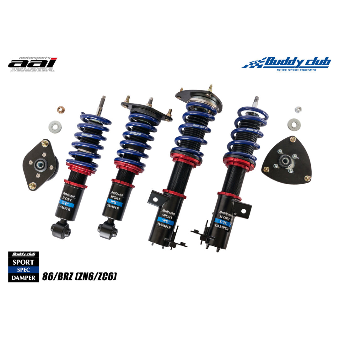 Sports Spec Damper and Coilover Spring Kit to Suit Toyota 86 (FT) & Subaru BRZ (ZN6)