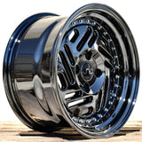 JNC035 Black Chrome