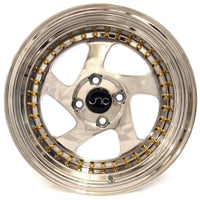JNC034 Platinum Gold Rivets