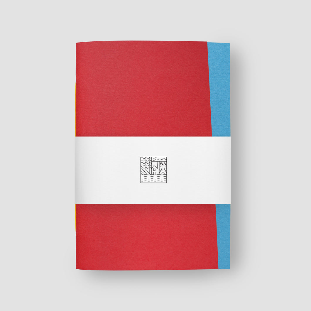 Origin Bright Red & Tabriz Notebook