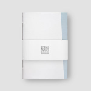 Origin Bright White & Azure Notebook / Exercise book
