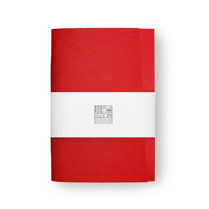 Origin One Bright Red Notebook / Exercise book