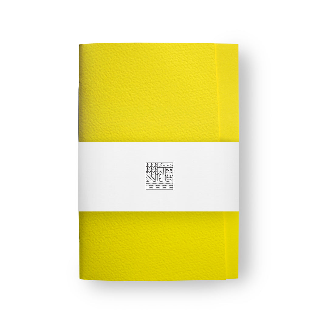 Origin One Factory Yellow Notebook