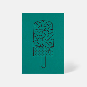 Ice Lolly Card Marrs Green