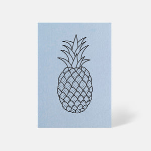 Pineapple Card Azure