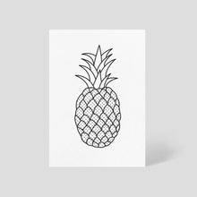 Pineapple Card Bright White