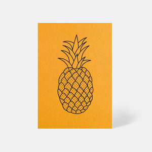Pineapple Card Citrine