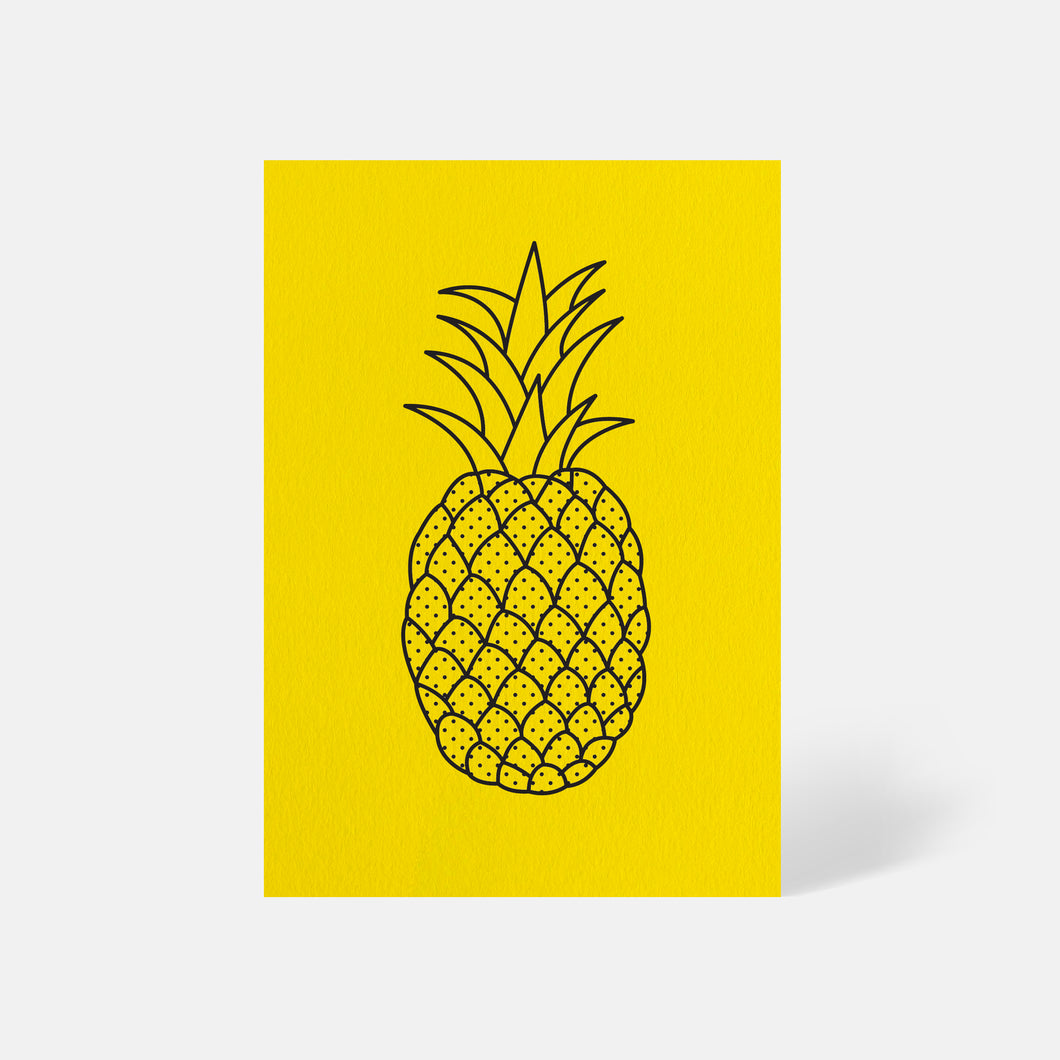 Pineapple Card Factory Yellow