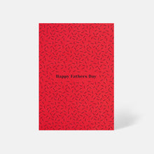 Father's Day Scattered Lines Card