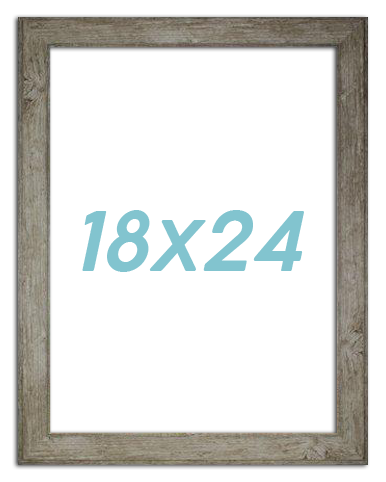 18X24 Rustic Poster Frame