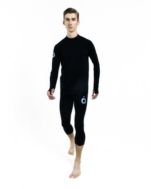 All Action Base Layer Shirt - Round Neck Black