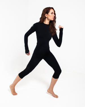 All Action Leggings - 3/4 Length Black