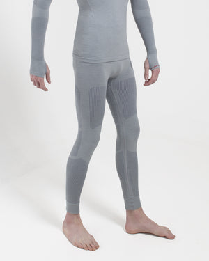 Backcountry Base Layer Bottoms - Full Length Silver