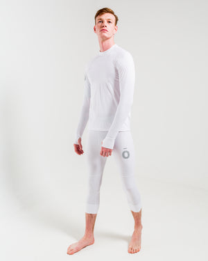 All Action Base Layer Shirt - Round Neck White