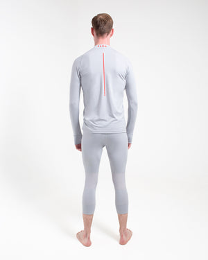All Action Base Layer Shirt - Round Neck Silver