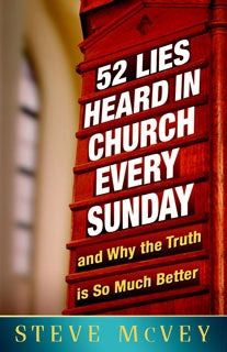 52 Lies Heard in Church Every Sunday - Book