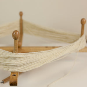 Hand Made Oak Yarn Swift with Yarn Server Attachment