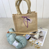 Basketweave Cowl Gift Bag
