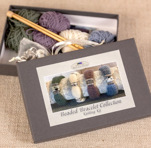 Beaded Bracelet Knitting Kit Gift Box