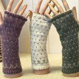 Fair Isle Wrist Warmers