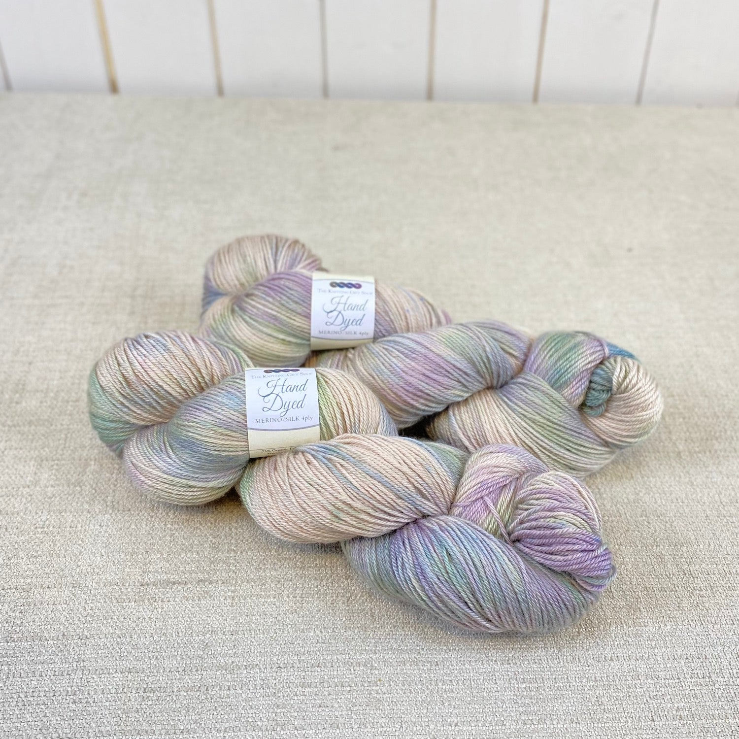 Hand Dyed Merino/Silk Luxury 4ply - 'Shades of Weardale'