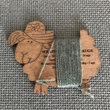 Wooden Sheep Wraps Per Inch Gauge