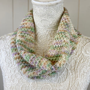 Double Moss Stitch Cowl Knitting Kit