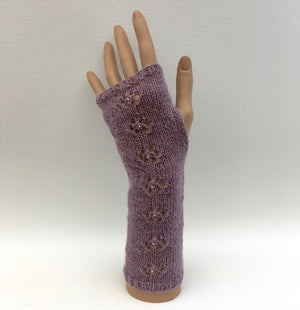 Dahlia Hand Warmers Knitting Kit