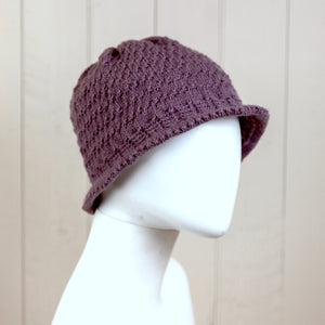 Picot Edge Hat Knitting Kit