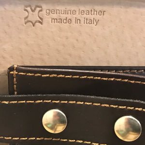 Cavallino Machiavelli C 317/7, Leder Made in Italy