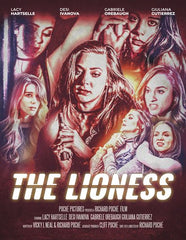 THE LIONESS - 1970s Exploitation Homage Grindhouse DVD