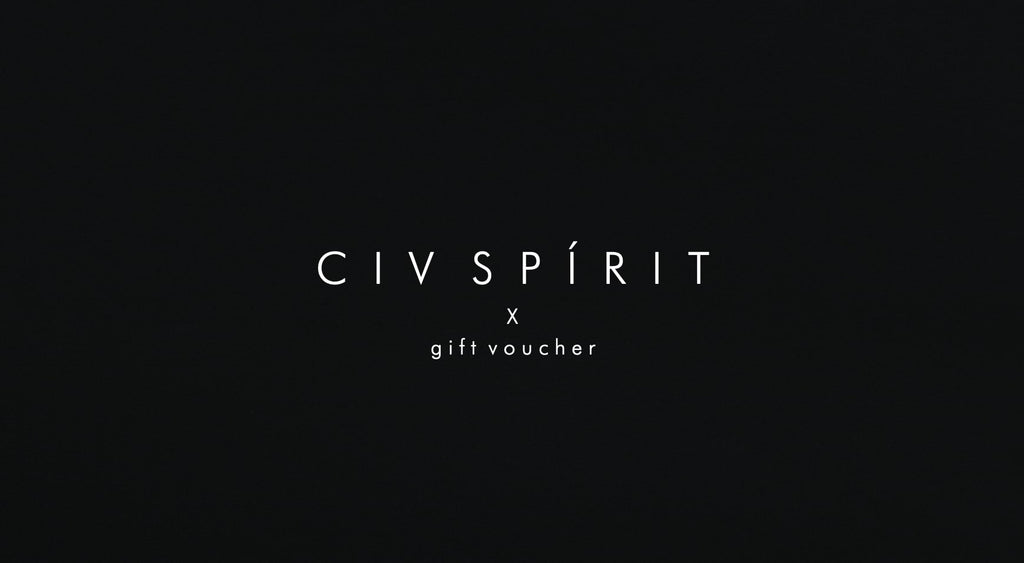 CIV SPÍRIT VODKA - Gift Voucher