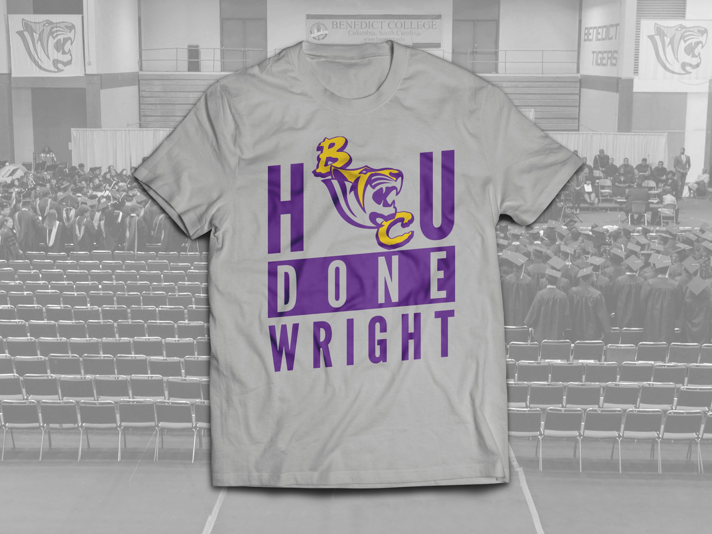 The H'BC'U Done Wright Tee
