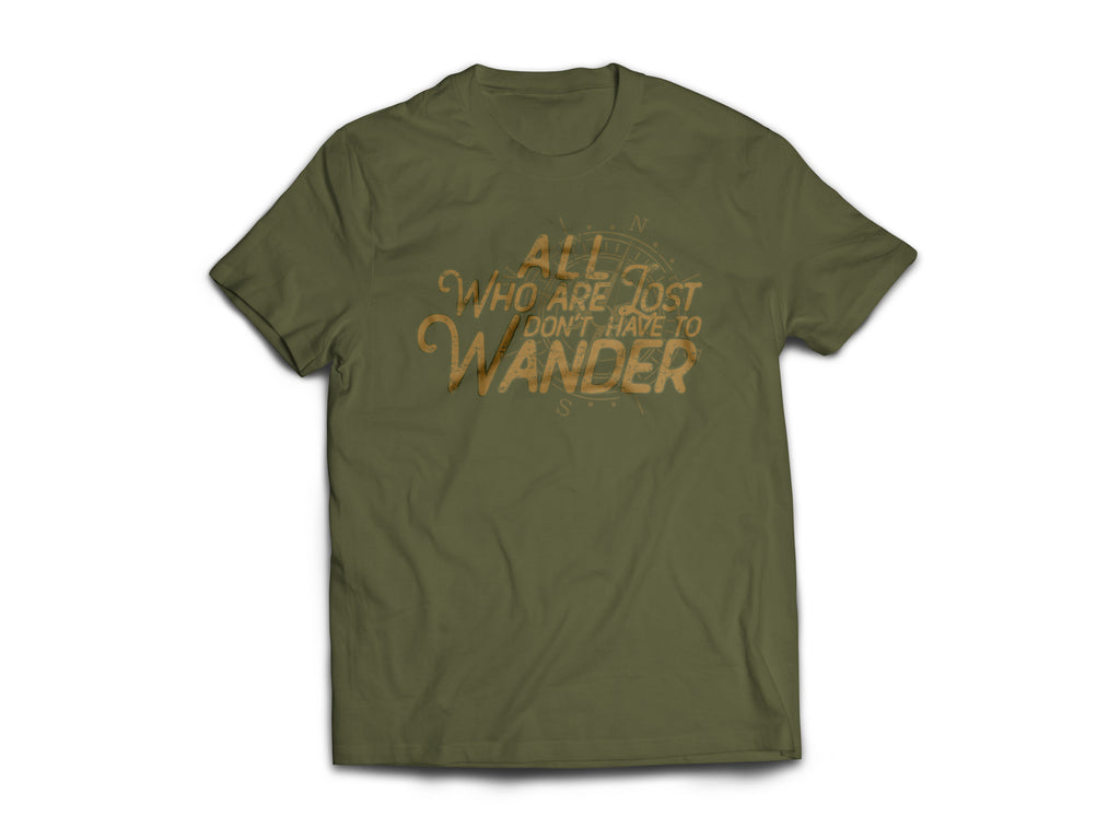 CLOTHED™ Don't Have to Wander Tee.