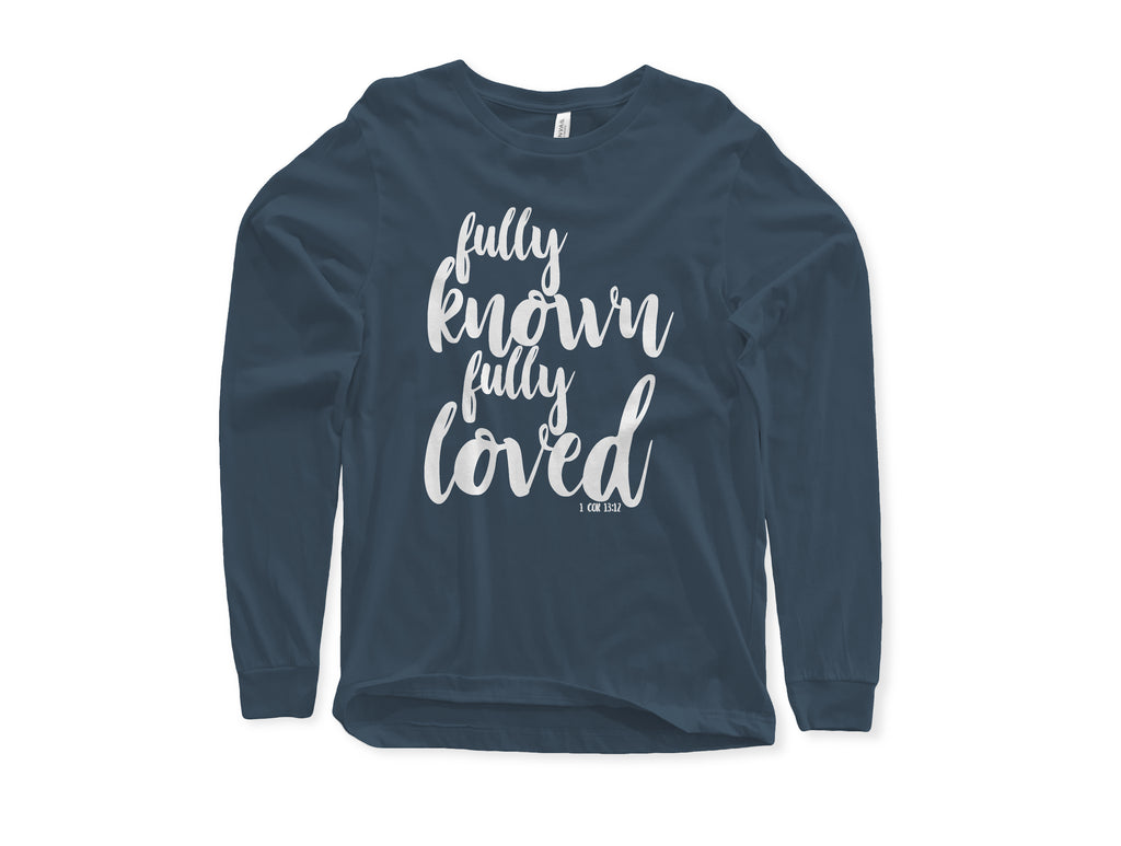 CLOTHED™ Fully Known Fully Loved Tee.