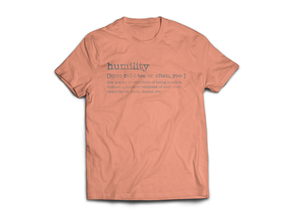 CLOTHED™ Humility Defined Tee.