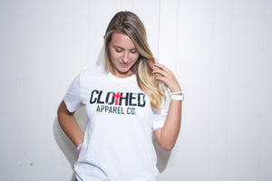 The CLOTHED™ Logo Tee.