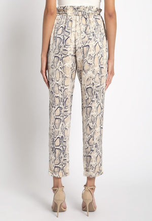 REPTILE SELF TIE PANTS