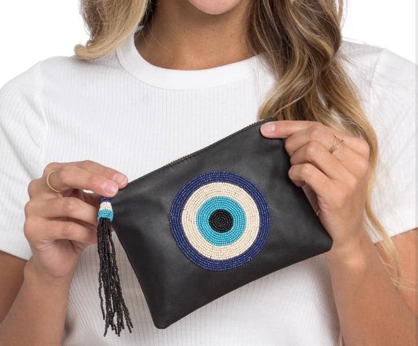 EVIL EYE MINI POUCH