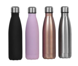 Drink Bottle Insulated Double Wall 500ml - Personalised