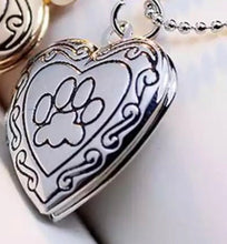 Load image into Gallery viewer, Pet Memorial Locket Necklace