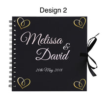 Load image into Gallery viewer, Wedding Guestbook Album Personalised