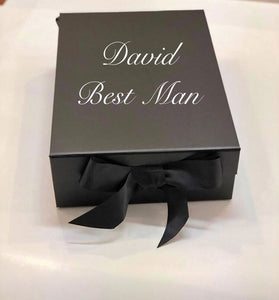 Magnetic closing Black Gift Box