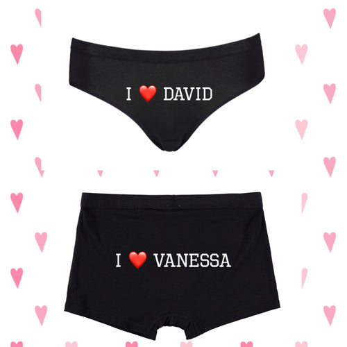 Couples Underwear
