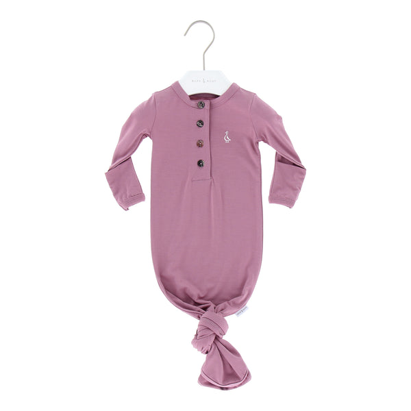Premium Bamboo Knotted Gowns, 0-3m