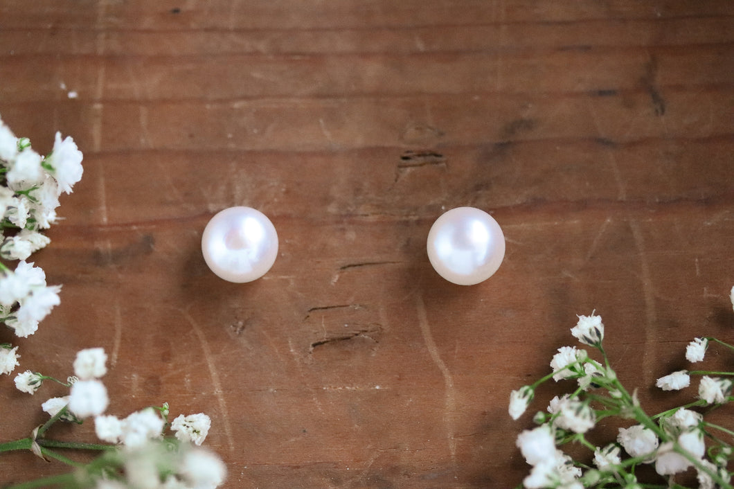 Ivory Pearl Studs