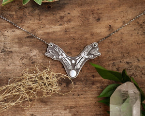 Ravens Moon Collar necklace