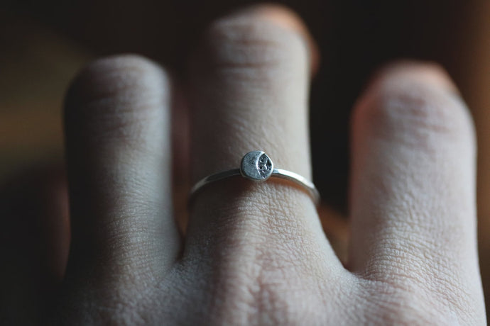Luna Stack Ring
